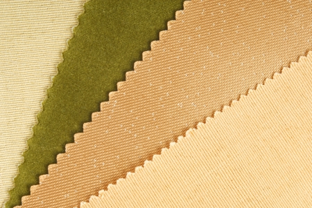 fabric swatches  choice for home interior photo
