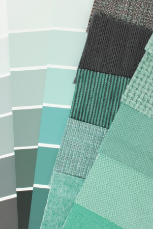 upholstery tapestry color selection for interior photo