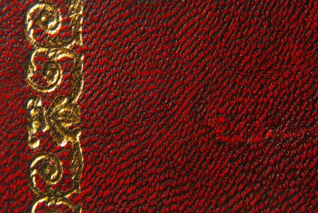 leather red vintage style texture background photo