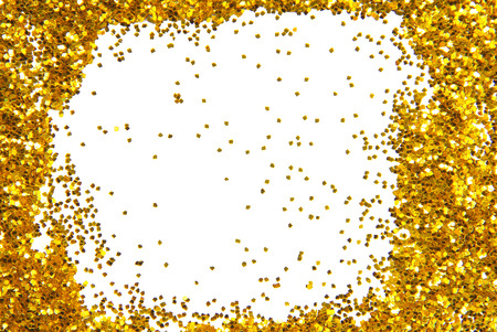 gouden schittering glinsterende kader