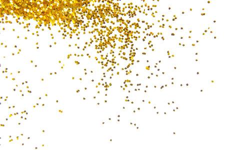 黄金の輝きのフレームの背景