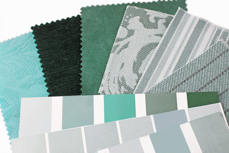 mint green color design selection photo