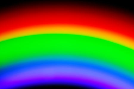 color spectrum blurry background Stock Photo - 25614882