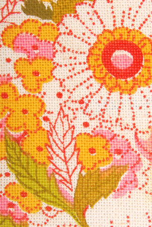 floral flowers fabric texture macro photo