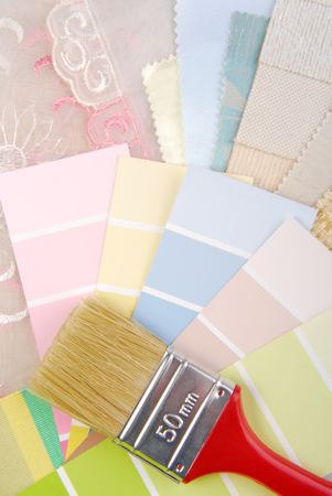 color pastel design  selection for interior photo