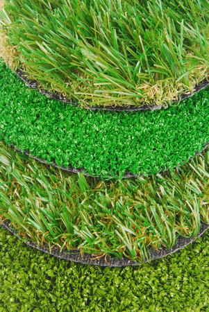 Muestras de hierba artificial Foto de archivo - 28117569