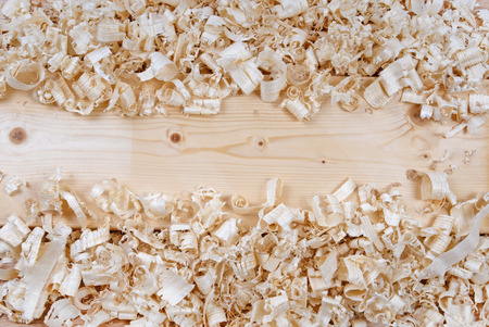 wooden shavings chips texture photo