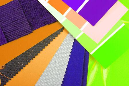 tinge: color design cloth selection for interior