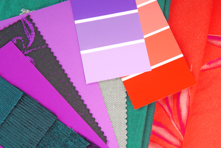 color design selection for interior photo