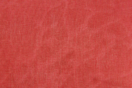 red organza fabric texture Stock Photo