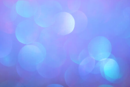 defuse: blurry bokeh blue color background Stock Photo