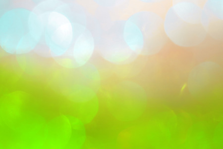 defuse: blur bokeh summer cozy  color background Stock Photo