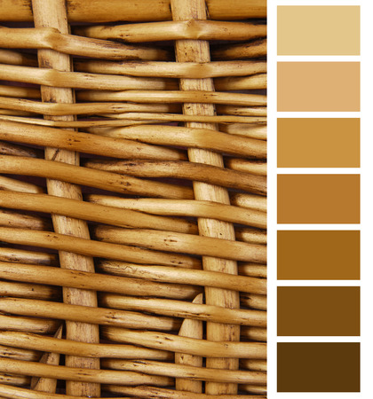 complimentary: wicker basket color complimentary chart selection