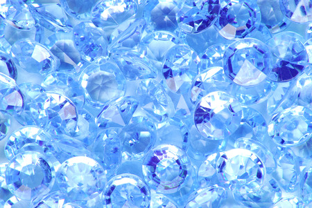 diamond background: close up of the blue diamond background