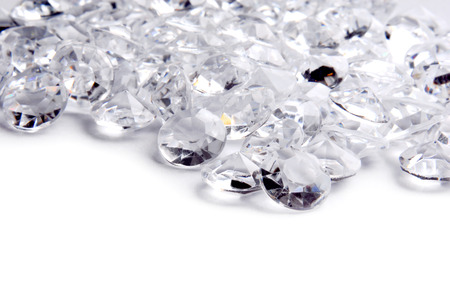 diamond background: diamond frame border background Stock Photo