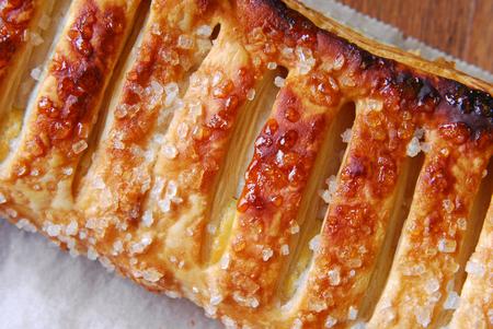 custard slices: schtrudel pie macro