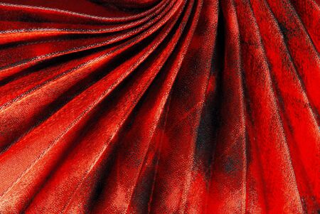 pleated: pleated fabric texture Stock Photo
