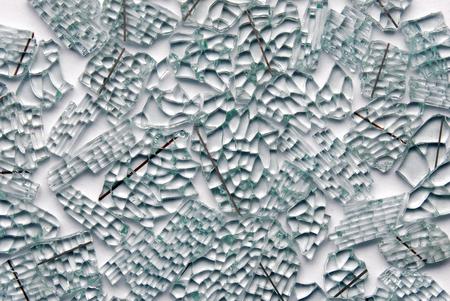 triplex: broken glass background