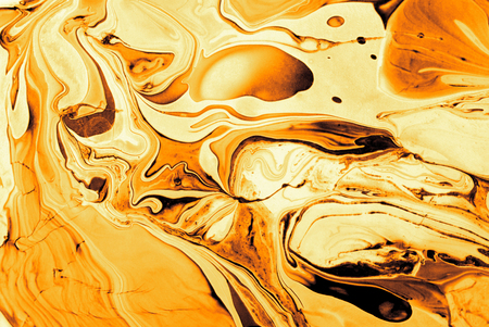 golden abstract of art wavy background