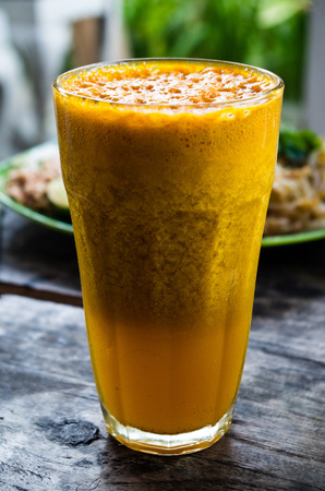 indo: Jamu asam kunyit healthy drink Stock Photo
