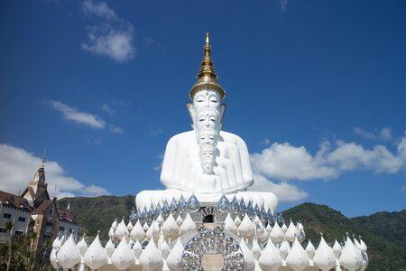 close up of five buddha