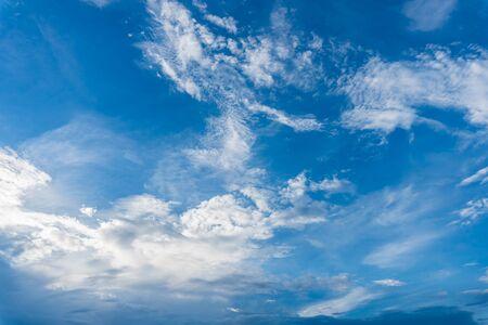 Clouds delicate flow and blue sky 版權商用圖片