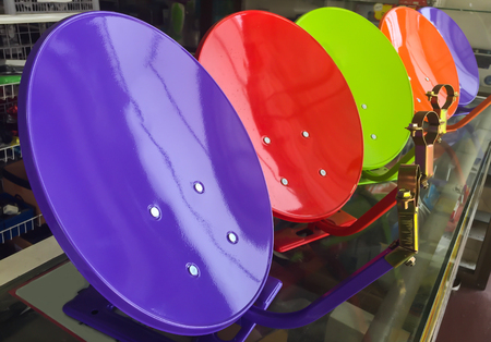 home  Satellite dish colorful for sell