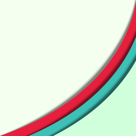 simple abstract background green and red color vector illustration