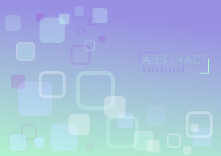overlap abstract background curved corner rectangle vector illustration