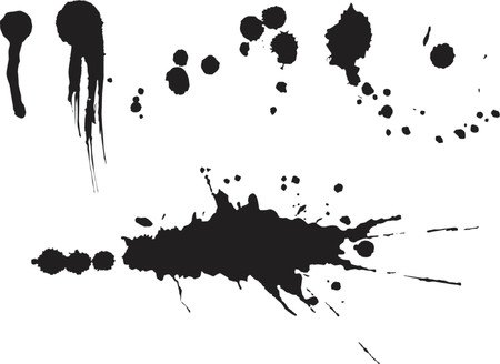 spatter: Splats and spatter set