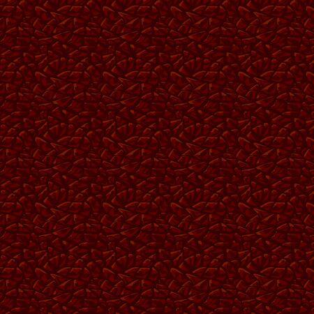Dark leather texture background. Leather seamless pattern. Ilustração