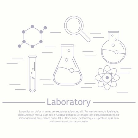Vector Laboratory, Chemical, Medical Test Logo, Icon. Laboratory ...