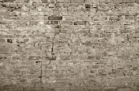 surface of an old brick wall grunge background texture close up Foto de archivo - 111482654