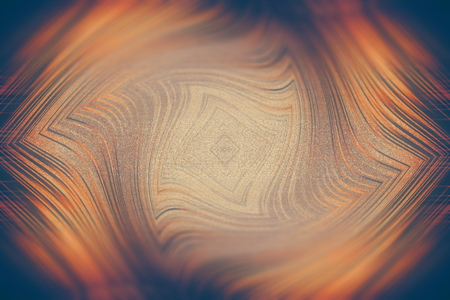 abstract background the distortion of space geometry orange color
