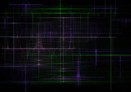 Abstract industrial techno modern background.