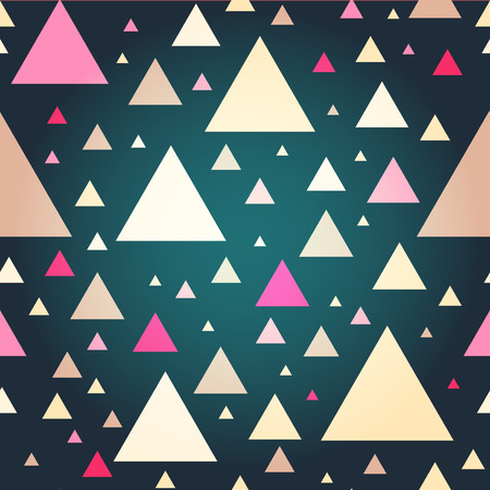 removable: seamless vector geometric triangle pattern with removable lens effect Illustration
