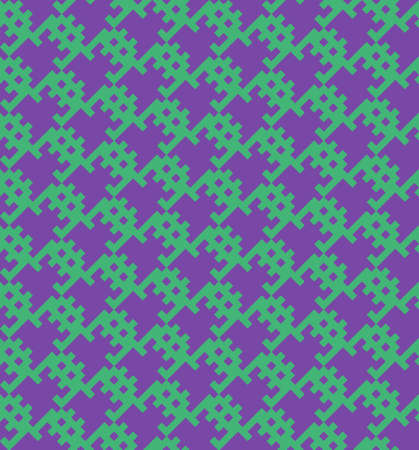 space invaders game: Old school game seamless vector pattern design