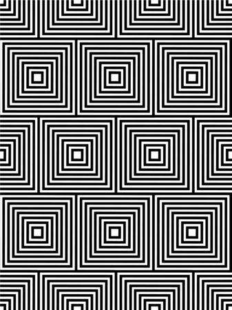 contemporary design: abstract geometric repeating contemporary seamless pattern design Illustration