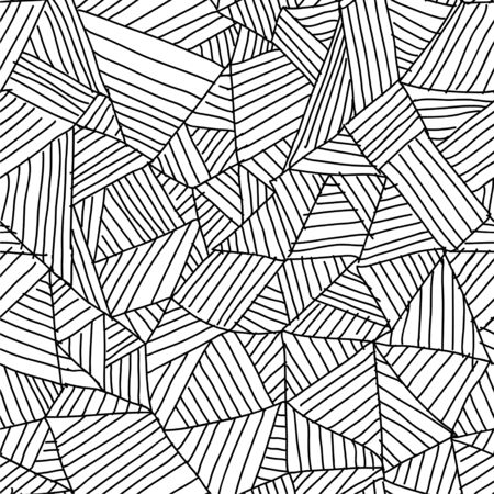 pattern geometric: abstract geometric repeating contemporary seamless pattern design Illustration