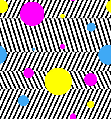 triangle pattern: abstract geometric repeating contemporary seamless pattern design Illustration