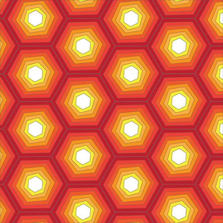 abstract green: Vector  Abstract Seamless Geometric Honeycomb Pattern Illustration