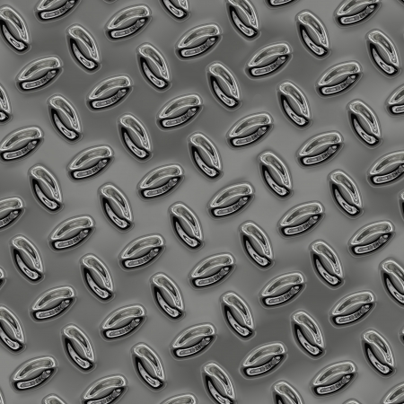 a large sheet of nice shiny chrome tread plate Stock Photo - 20598815