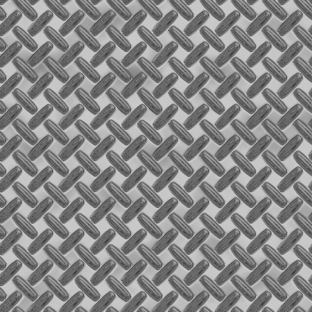 enormous sheet of diamond plate metal Stock Photo - 20598868