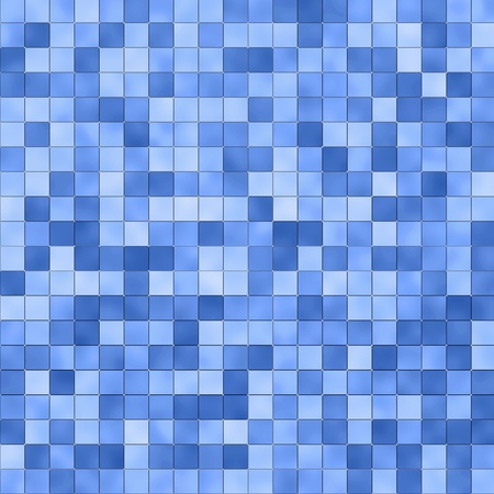 tints: Blue square tile pattern, various blue tints and shades
