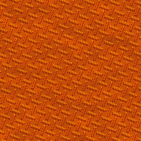 Orange Metal diamond plate