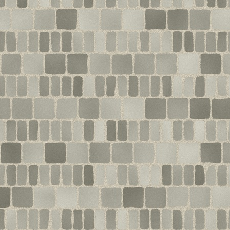 grey tiles give a harmonic pattern at the ground Stock Photo