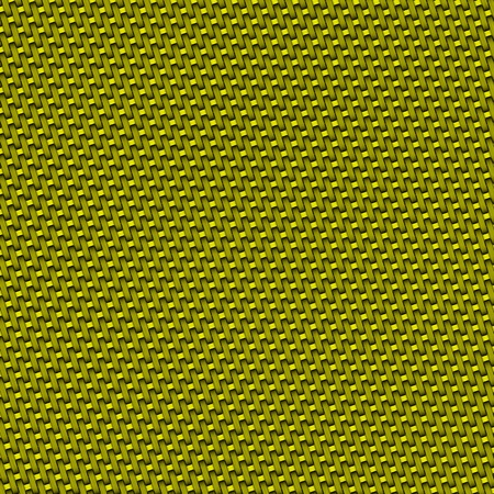 hauberk: knitted golden hauberk Stock Photo