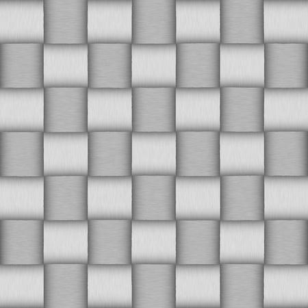 White wicker background  seamless pattern