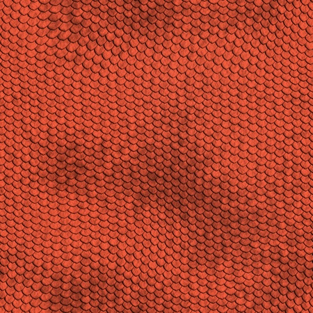 red reptile texture - seamless Stock Photo - 20943490
