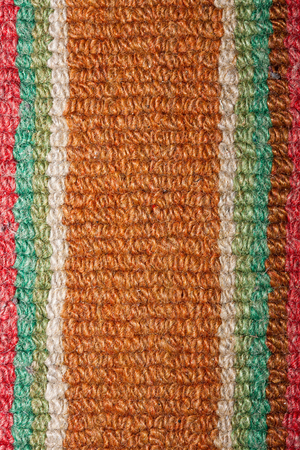 old textile surface close up photo